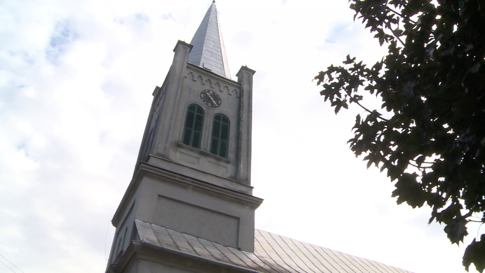 Az érsemjéni református templom tornya