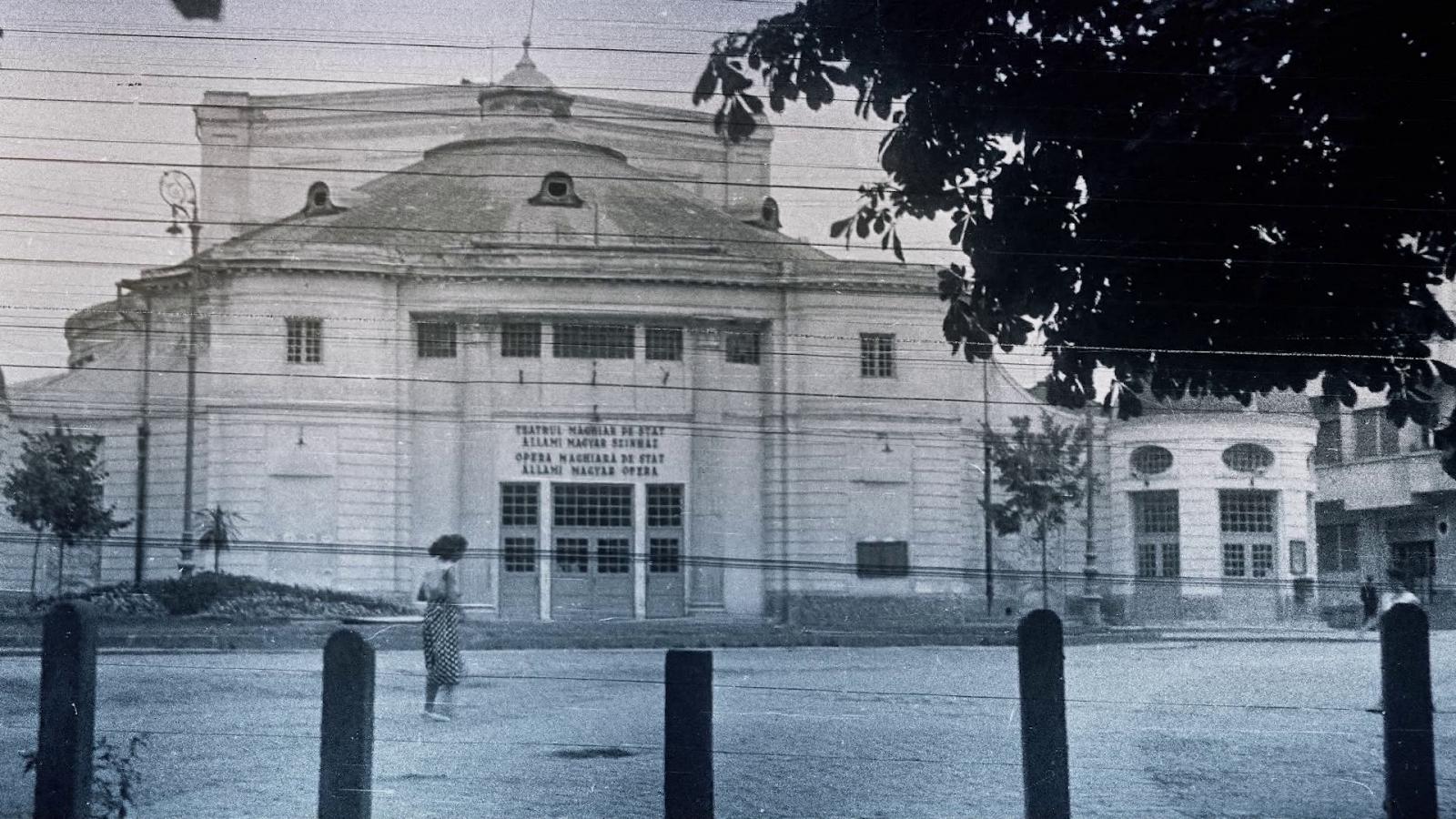 A sétatéri nyári Színkör az 1910-es átépítés után