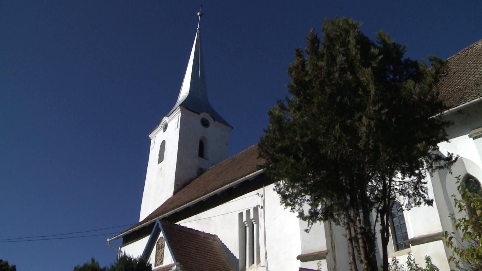 Az erdőszentgyörgyi református templom