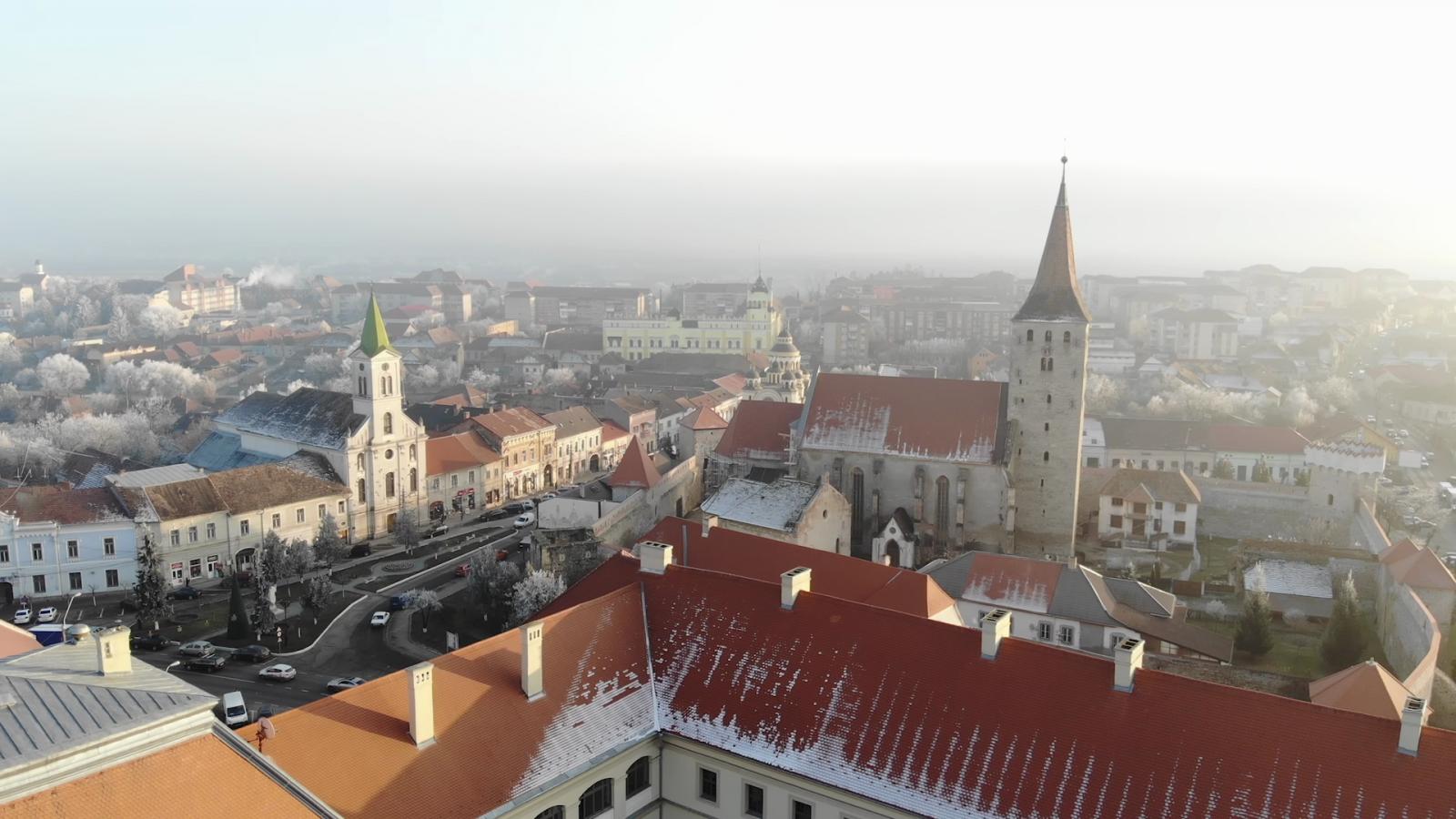 Nagyenyed madártávlatból | Fotók: Varró-Bodoczi Zoltán